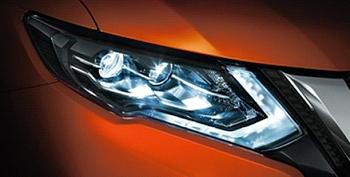 エクストレイルハイブリッド用LEDヘッドランプ