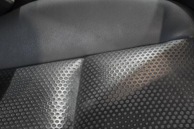 シートの座面部分の質感