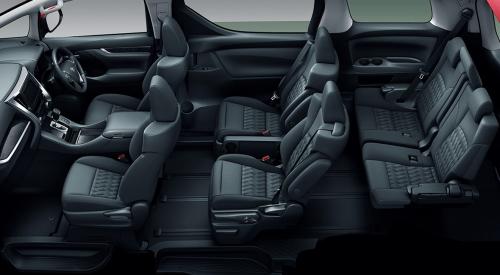 ブラック&ライトグレー内装・車内空間