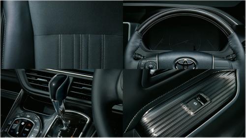 特別仕様車 Giプレミアムパッケージ・ブラックテーラード(Premium Package・Black-Tailored)その他の内装