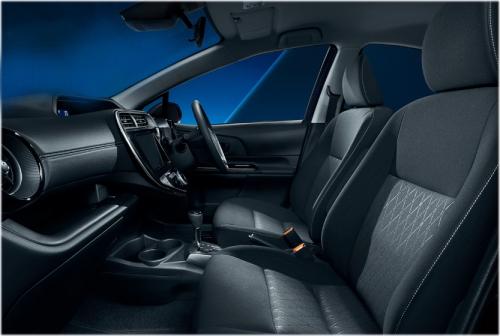 特別仕様車 Sスタイルブラックの内装