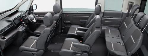 ブラック×シルバー内装(スパーダ)車内空間・クールスピリットホンダセンシング