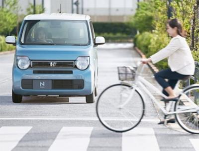 衝突軽減ブレーキ〈CMBS〉(Honda SENSING)