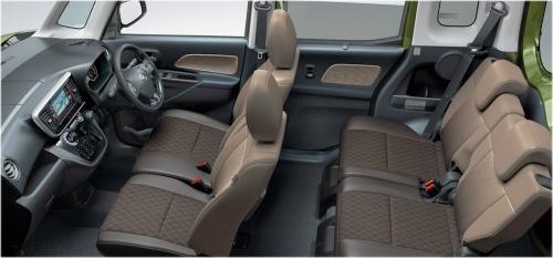 プレミアムグラデーションインテリア(メーカーオプション)車内空間