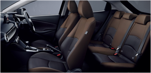 マツダ2 XDプロアクティブのインテリア・車内空間