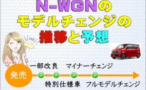 N-WGNのモデルチェンジ推移&予想