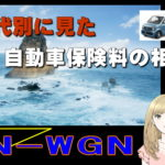 N-WGNの年代別に見た自動車保険料の相場
