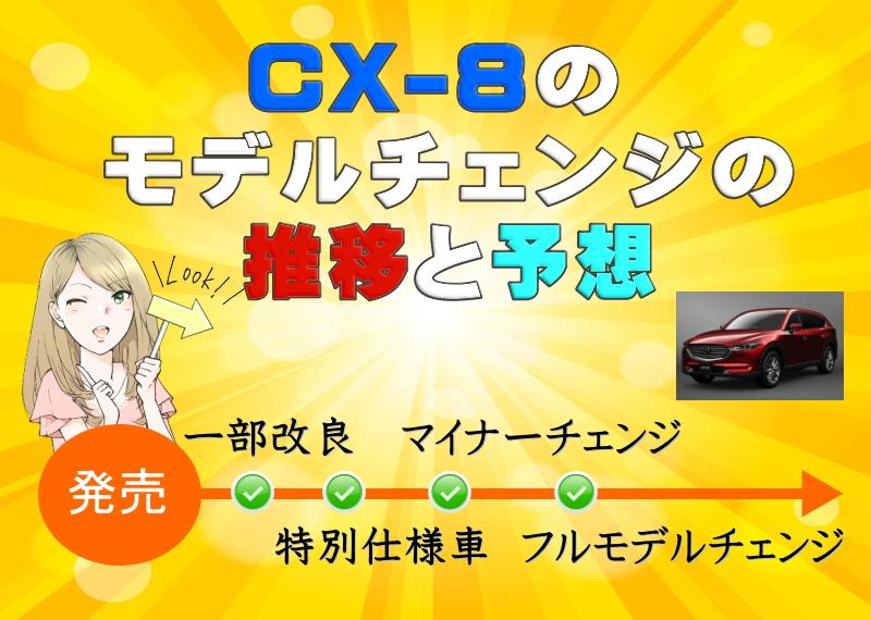CX-8のモデルチェンジ推移&予想