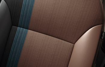 デイズハイウェイスターのプレミアムコンビネーションインテリアのシート表皮
