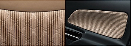 デイズルークスのシート表皮・デザイン ブラウン