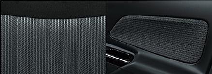 デイズルークスのシート表皮・デザイン エボニー