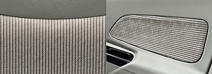 デイズルークスのシート表皮・デザイン アイボリー