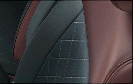 デイズルークスのシート表皮・デザイン モカブラウン(ボレロ)