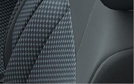 デイズルークスのシート表皮・デザイン ブラック(ライダー)