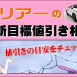 トヨタ ハリアーの最新目標値引き