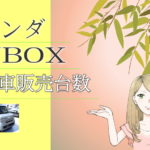 ホンダ NBOX 新車販売台数