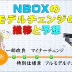 NBOXのモデルチェンジ推移&予想