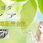 トヨタ ノア 新車販売台数推移