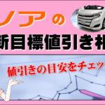 トヨタ ノアの最新目標値引き