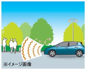 車両接近通報装置イメージ図