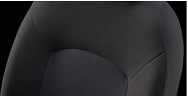 ノートSシリーズのシート表皮(トリコット)
