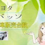トヨタ パッソ 新車販売台数推移