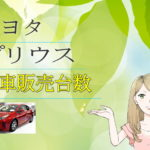 トヨタ プリウス 新車販売台数推移