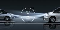 セレナe-POWERハイウェイスターVのインテリジェントオートライトシステム