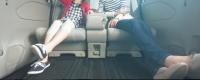 セレナe-POWERハイウェイスターVのセカンドシート・超ロングスライド