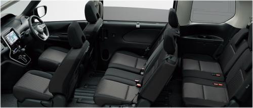 グレー&ブラック内装・車内空間