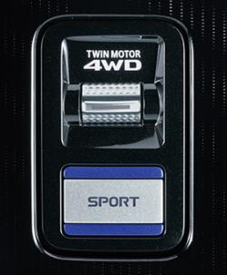 ドライブモードスイッチ・スポーツモードスイッチ(PHEV)