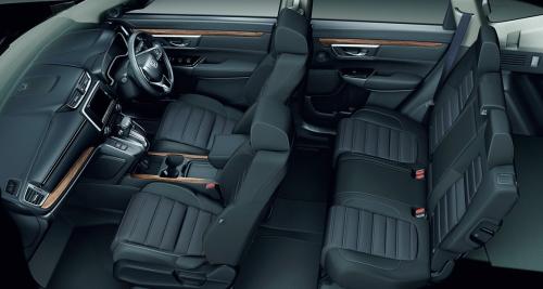 CR-Vの内装・車内空間
