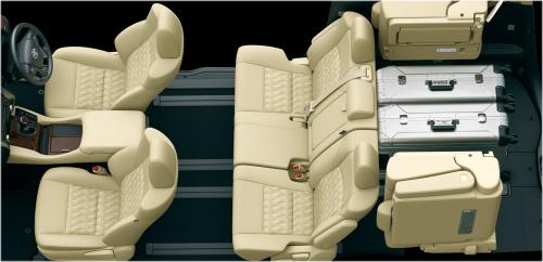 5人乗車+荷室モード