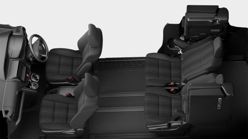 ヴォクシーの7人乗りのシートアレンジ・スーパーリラックスモード