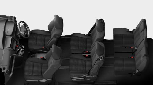 ヴォクシーの7人乗りのシートアレンジ・フリーアクセスモード