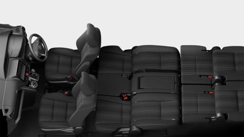 ヴォクシーの8人乗りのシートアレンジ・リヤフラットソファモード