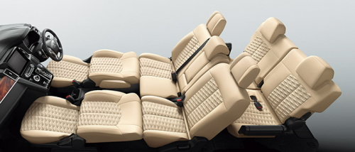 フロントシート+セカンドシートフラットモード