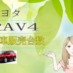 RAV4の新車販売台数