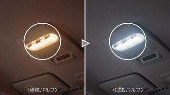 ルークスのルームランプ用LED
