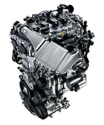カローラツーリングのエンジン