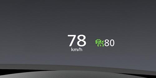 CX-30のアクティブドライビングディスプレイ