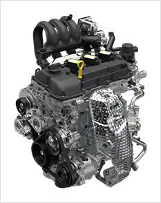 ハスラーのノンターボエンジン